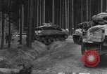 Image of US 16th Infantry accompanied by Armor, advance  from Osterode Germany, 1945, second 8 stock footage video 65675041532