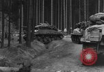 Image of US 16th Infantry accompanied by Armor, advance  from Osterode Germany, 1945, second 9 stock footage video 65675041532