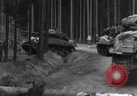 Image of US 16th Infantry accompanied by Armor, advance  from Osterode Germany, 1945, second 12 stock footage video 65675041532