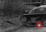 Image of US 16th Infantry accompanied by Armor, advance  from Osterode Germany, 1945, second 15 stock footage video 65675041532