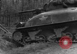Image of US 16th Infantry accompanied by Armor, advance  from Osterode Germany, 1945, second 17 stock footage video 65675041532