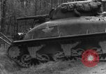 Image of US 16th Infantry accompanied by Armor, advance  from Osterode Germany, 1945, second 18 stock footage video 65675041532