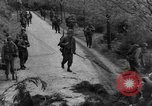 Image of US 16th Infantry accompanied by Armor, advance  from Osterode Germany, 1945, second 20 stock footage video 65675041532