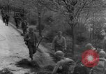 Image of US 16th Infantry accompanied by Armor, advance  from Osterode Germany, 1945, second 22 stock footage video 65675041532