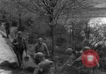 Image of US 16th Infantry accompanied by Armor, advance  from Osterode Germany, 1945, second 23 stock footage video 65675041532