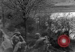 Image of US 16th Infantry accompanied by Armor, advance  from Osterode Germany, 1945, second 24 stock footage video 65675041532