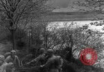 Image of US 16th Infantry accompanied by Armor, advance  from Osterode Germany, 1945, second 26 stock footage video 65675041532