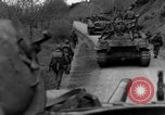 Image of US 16th Infantry accompanied by Armor, advance  from Osterode Germany, 1945, second 41 stock footage video 65675041532
