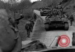 Image of US 16th Infantry accompanied by Armor, advance  from Osterode Germany, 1945, second 42 stock footage video 65675041532