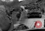 Image of US 16th Infantry accompanied by Armor, advance  from Osterode Germany, 1945, second 43 stock footage video 65675041532