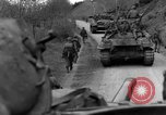 Image of US 16th Infantry accompanied by Armor, advance  from Osterode Germany, 1945, second 44 stock footage video 65675041532