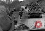 Image of US 16th Infantry accompanied by Armor, advance  from Osterode Germany, 1945, second 45 stock footage video 65675041532