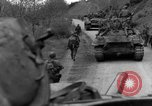 Image of US 16th Infantry accompanied by Armor, advance  from Osterode Germany, 1945, second 46 stock footage video 65675041532