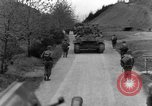 Image of US 16th Infantry accompanied by Armor, advance  from Osterode Germany, 1945, second 48 stock footage video 65675041532