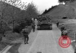 Image of US 16th Infantry accompanied by Armor, advance  from Osterode Germany, 1945, second 49 stock footage video 65675041532
