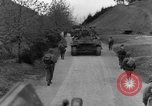 Image of US 16th Infantry accompanied by Armor, advance  from Osterode Germany, 1945, second 51 stock footage video 65675041532