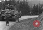 Image of US 16th Infantry accompanied by Armor, advance  from Osterode Germany, 1945, second 62 stock footage video 65675041532