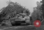 Image of Captured Mark V tank Saint Lo France, 1944, second 13 stock footage video 65675041538
