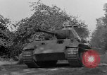 Image of Captured Mark V tank Saint Lo France, 1944, second 14 stock footage video 65675041538