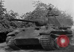 Image of Captured Mark V tank Saint Lo France, 1944, second 15 stock footage video 65675041538