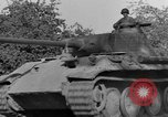 Image of Captured Mark V tank Saint Lo France, 1944, second 16 stock footage video 65675041538