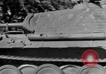 Image of Captured Mark V tank Saint Lo France, 1944, second 19 stock footage video 65675041538