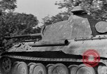 Image of Captured Mark V tank Saint Lo France, 1944, second 21 stock footage video 65675041538