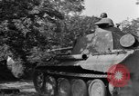 Image of Captured Mark V tank Saint Lo France, 1944, second 22 stock footage video 65675041538