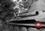 Image of Captured Mark V tank Saint Lo France, 1944, second 43 stock footage video 65675041538