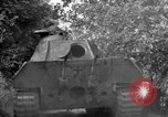 Image of Captured Mark V tank Saint Lo France, 1944, second 45 stock footage video 65675041538