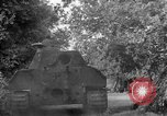 Image of Captured Mark V tank Saint Lo France, 1944, second 46 stock footage video 65675041538