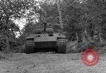 Image of Ground  view Mark V tank  Saint Lo France, 1944, second 6 stock footage video 65675041539