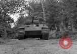 Image of Ground  view Mark V tank  Saint Lo France, 1944, second 7 stock footage video 65675041539