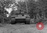 Image of Ground  view Mark V tank  Saint Lo France, 1944, second 8 stock footage video 65675041539