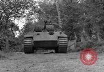 Image of Ground  view Mark V tank  Saint Lo France, 1944, second 9 stock footage video 65675041539
