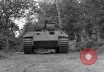 Image of Ground  view Mark V tank  Saint Lo France, 1944, second 10 stock footage video 65675041539