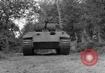Image of Ground  view Mark V tank  Saint Lo France, 1944, second 11 stock footage video 65675041539