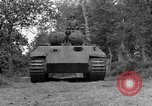 Image of Ground  view Mark V tank  Saint Lo France, 1944, second 13 stock footage video 65675041539