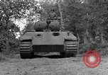 Image of Ground  view Mark V tank  Saint Lo France, 1944, second 14 stock footage video 65675041539