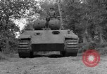 Image of Ground  view Mark V tank  Saint Lo France, 1944, second 15 stock footage video 65675041539