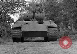 Image of Ground  view Mark V tank  Saint Lo France, 1944, second 16 stock footage video 65675041539