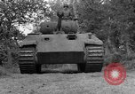 Image of Ground  view Mark V tank  Saint Lo France, 1944, second 17 stock footage video 65675041539