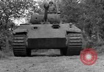 Image of Ground  view Mark V tank  Saint Lo France, 1944, second 18 stock footage video 65675041539