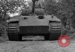 Image of Ground  view Mark V tank  Saint Lo France, 1944, second 19 stock footage video 65675041539