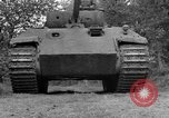 Image of Ground  view Mark V tank  Saint Lo France, 1944, second 21 stock footage video 65675041539
