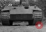 Image of Ground  view Mark V tank  Saint Lo France, 1944, second 22 stock footage video 65675041539