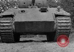 Image of Ground  view Mark V tank  Saint Lo France, 1944, second 23 stock footage video 65675041539