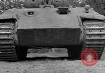 Image of Ground  view Mark V tank  Saint Lo France, 1944, second 24 stock footage video 65675041539