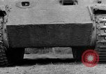 Image of Ground  view Mark V tank  Saint Lo France, 1944, second 26 stock footage video 65675041539