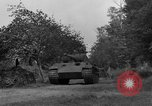 Image of Ground  view Mark V tank  Saint Lo France, 1944, second 37 stock footage video 65675041539